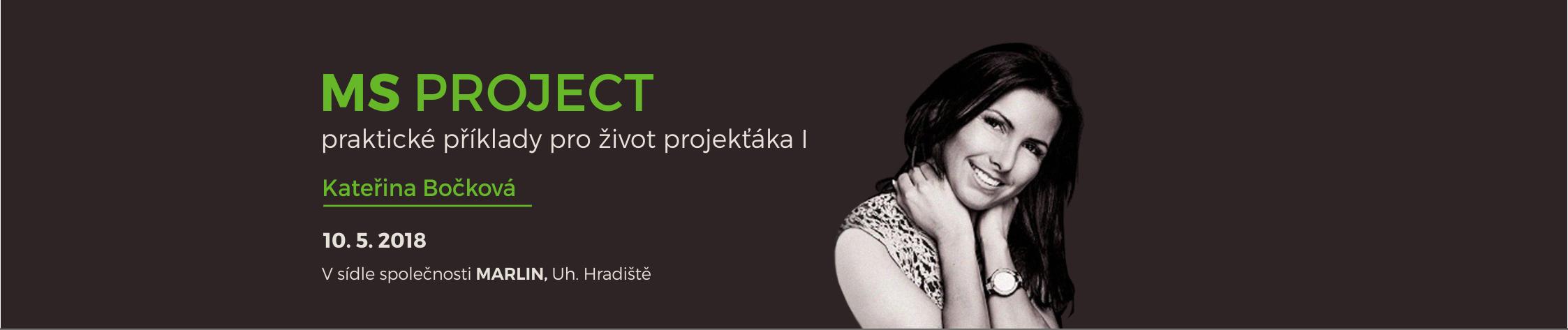 MS Project - praktické příklady pro život projekťáka I